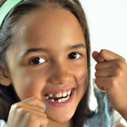 THE IMPORTANCE OF FLOSSING FOR CHILDREN